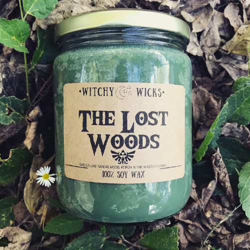 The Lost Woods 100% Soy Wax Candle