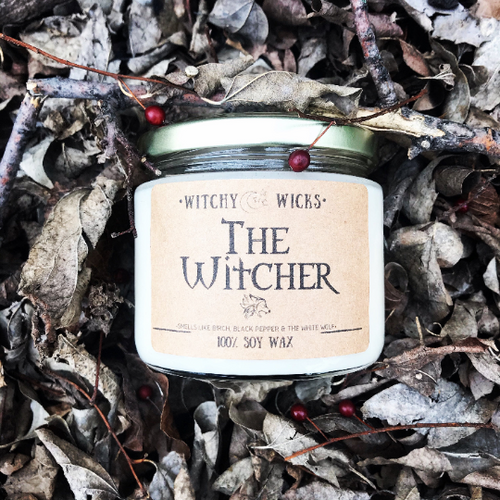 The Witcher 100% Soy Wax Candle