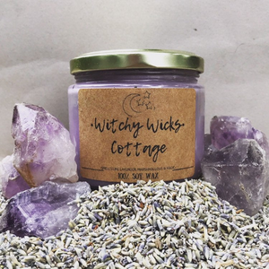 Witchy Wick's Cottage 100% Soy Wax Candle