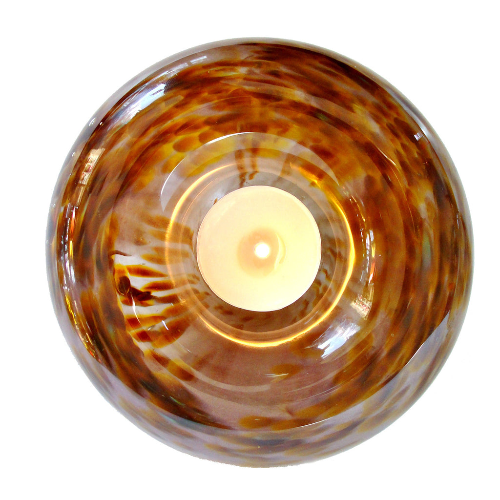 Handblown Candle Holder