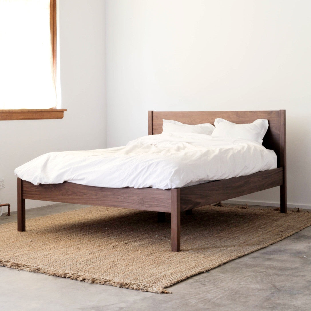 Berkeley Bed Frame by Hedge House | Handcrafted Furniture | Apt528
