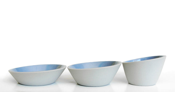 Porcelain Bowls, Set of 3