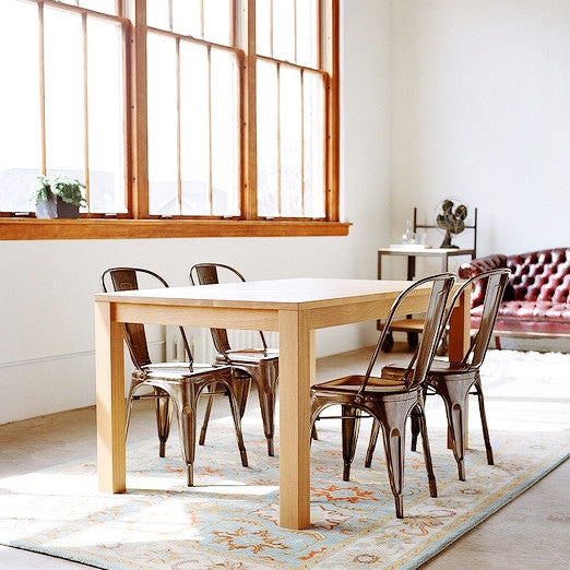 parsons dining table by hedge house apartment 528 rh apt528 com parsons dining table with leaves parsons dining table white