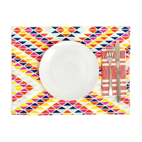 Sunset Rainbow Placemats