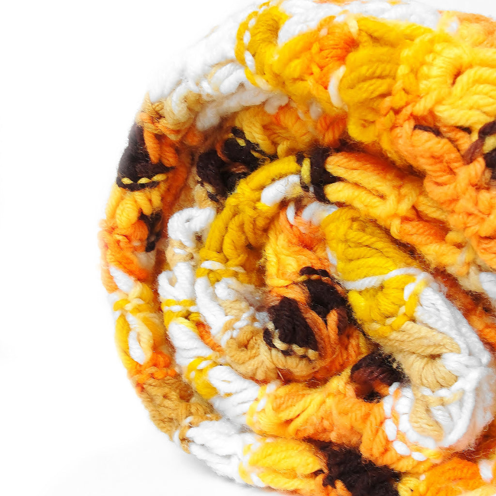 Yellow & Orange Afghan