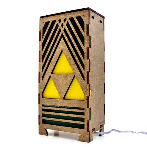 Triforce Table Lamp