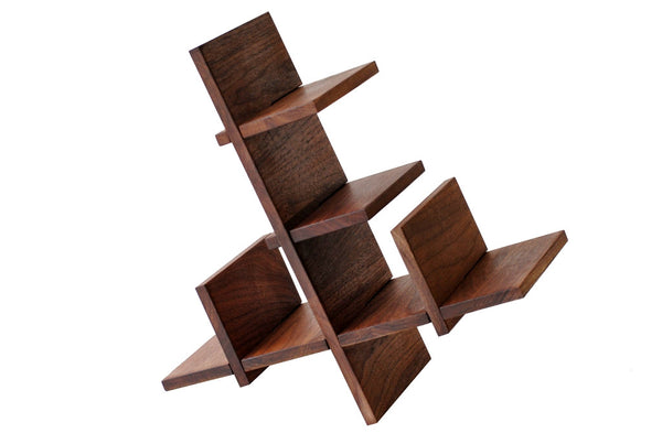 Walnut BYO Modular Wine Holder