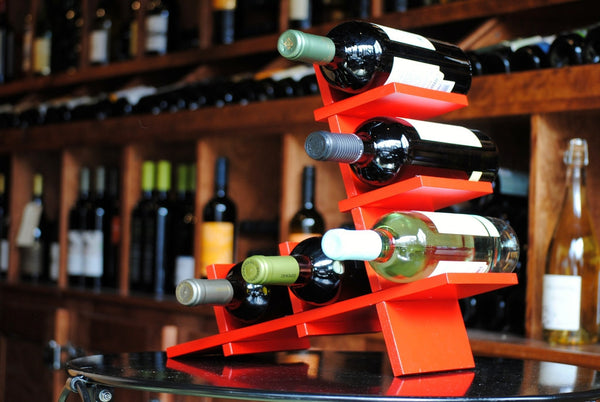 Red BYO Modular Wine Holder