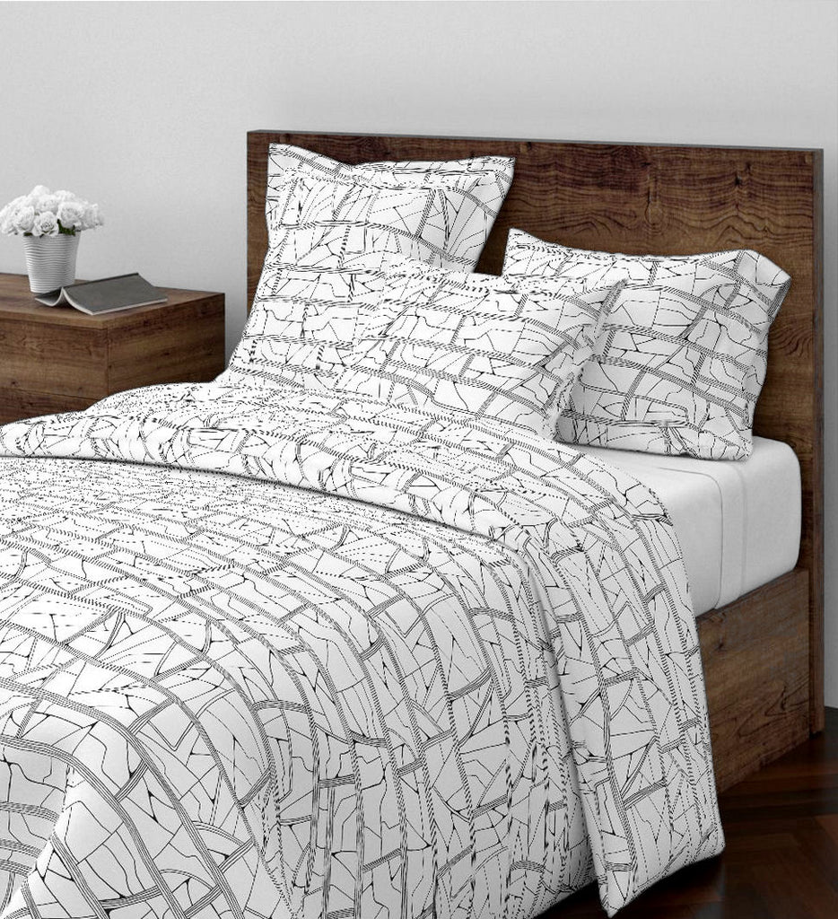 Barkcloth Duvet Cover