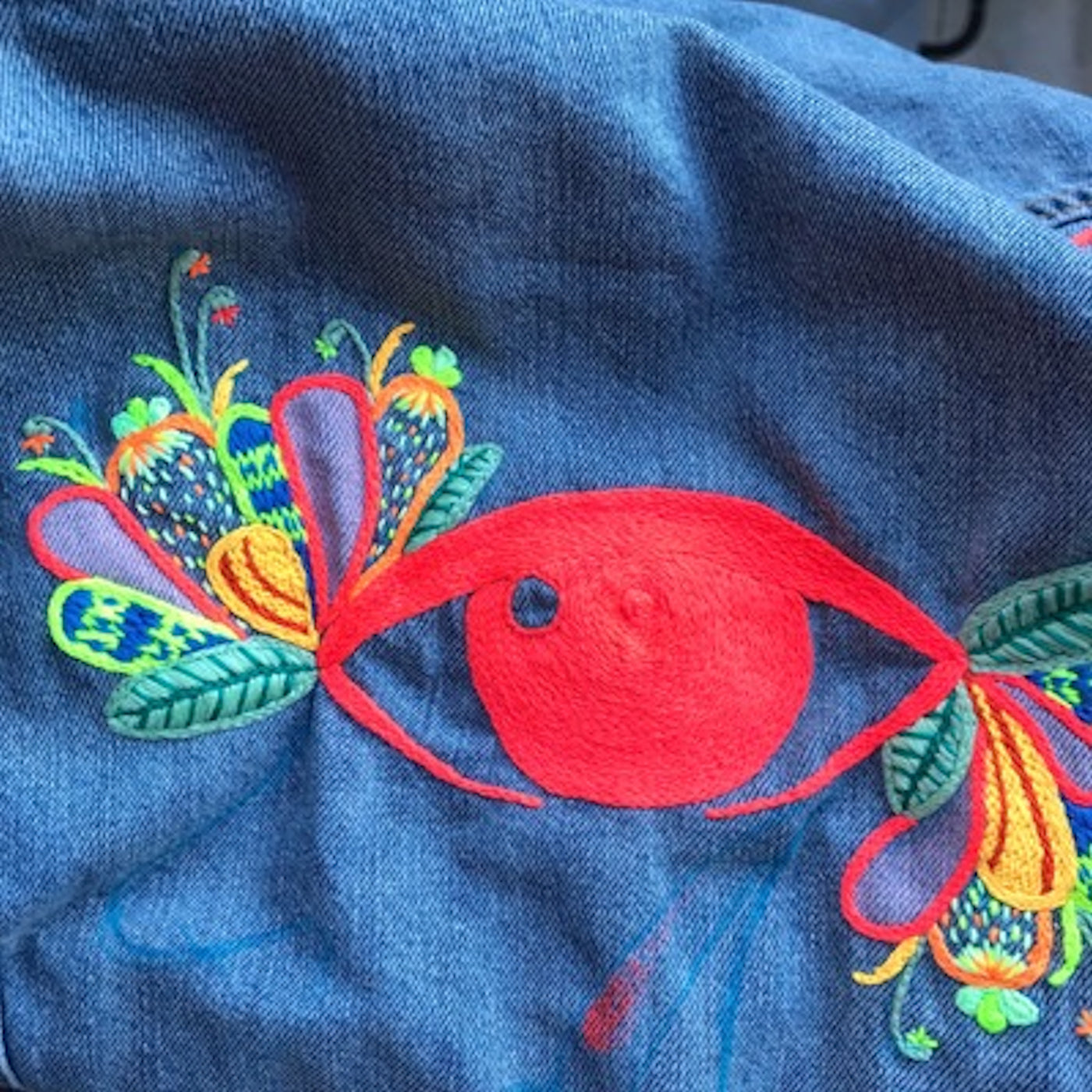 Embroidery Workshop - August 5th