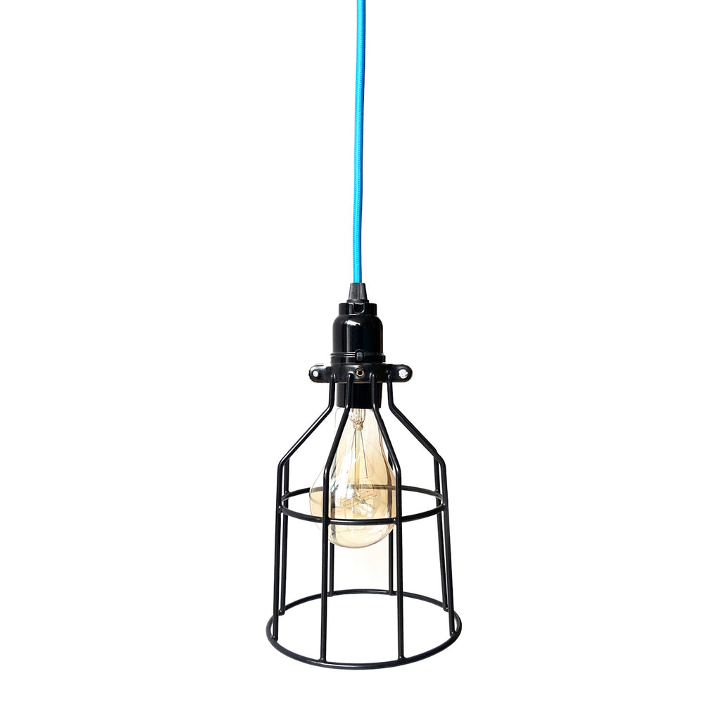 Cage Pendant/Desk Light
