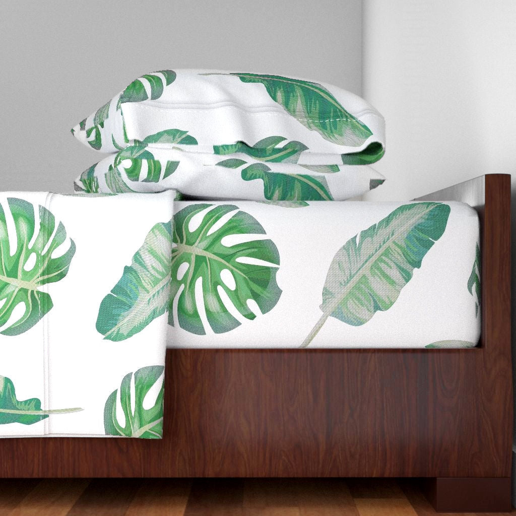 Monstera Sheet Set