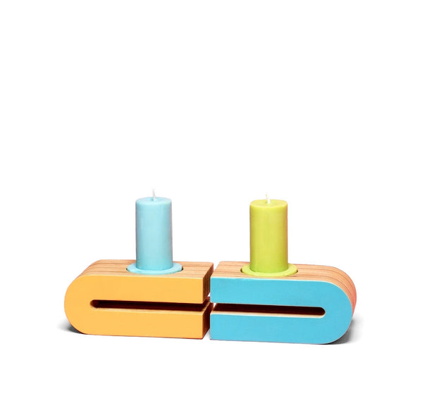 Parallax Candle Holders
