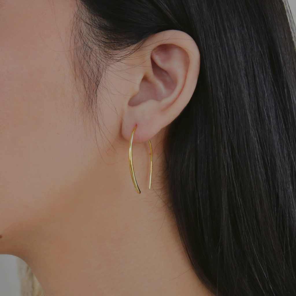 Olivia Earrings - Gold Vermeil