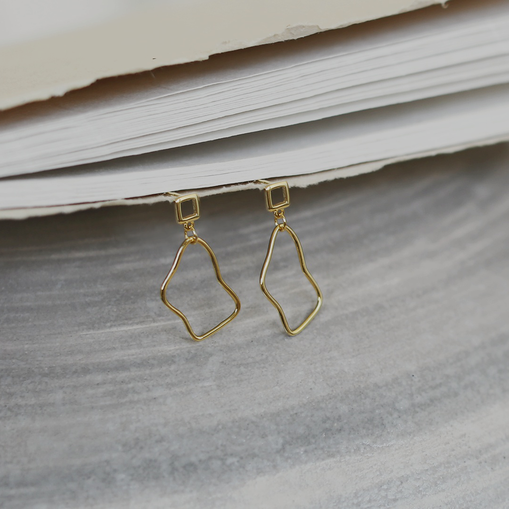 Sasha Earrings - Gold Vermeil