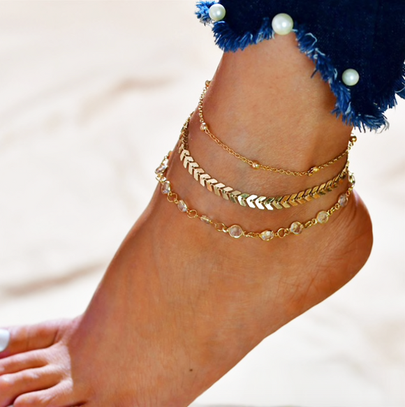 Simple Anklet Set