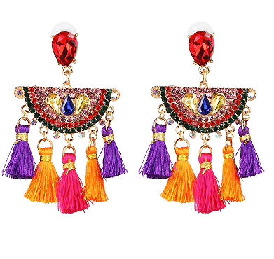 The Fringed Senorita Earrings 2