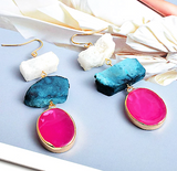 BlueWaters Rock Earrings