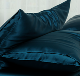 FP Bedding Teal Silk Pillowcase