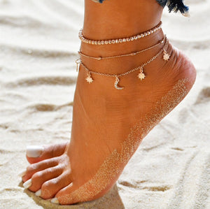 Sea Anklet Set
