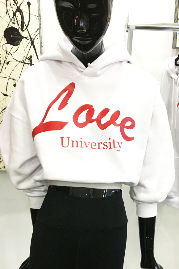 LOve University Double Printed Hoodie