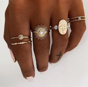 Dubai Ring Set