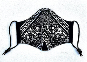 A thing 4 Bandanas Black Mask