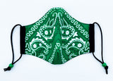 A thing 4 Bandanas Green Mask