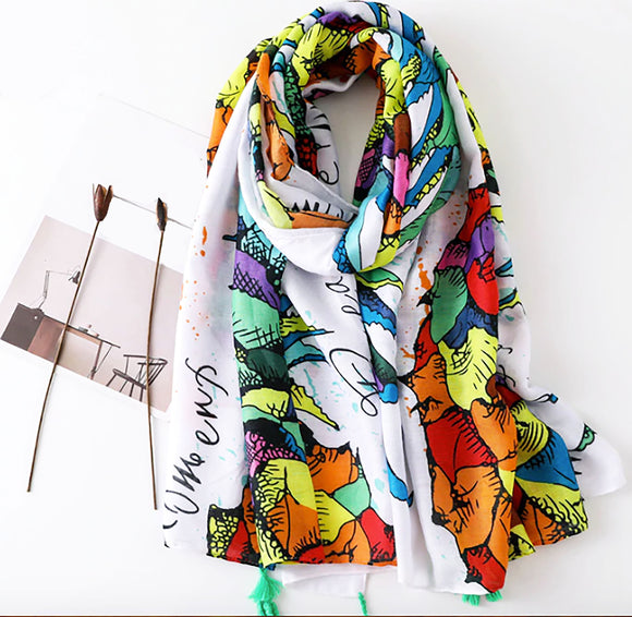 The Tropical Fantasies Scarf