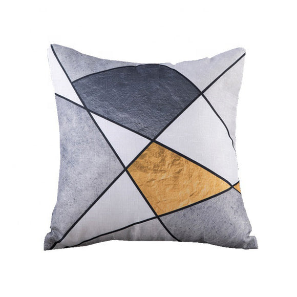 Modern Cut Throw Pillowcase