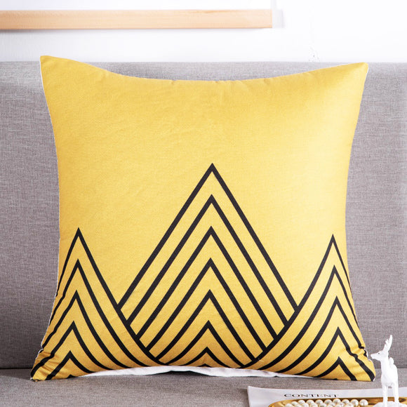The Pyramid Throw Pillowcase