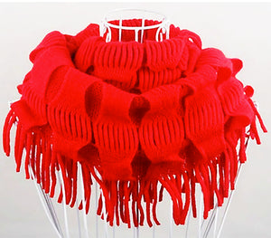 The Red Knit Scarf