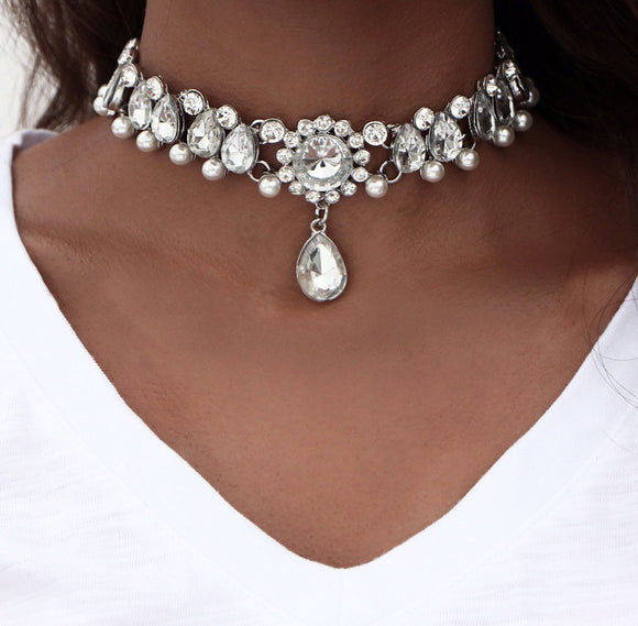 Royal Silver Choker