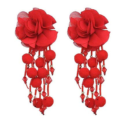 The Red Senorita Earrings