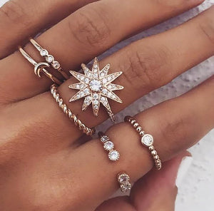 Star Ring Set