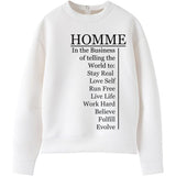 HOMME Business of Happy Humans Sweater