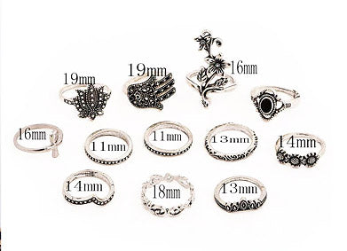Tarot Ring Set