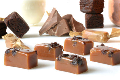 Salted Fudge Brownie Chunk Caramels (Limited Edition)