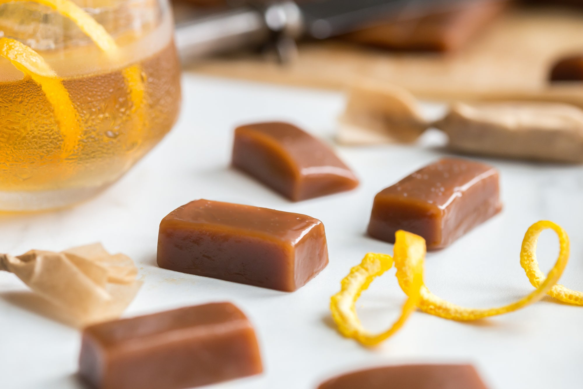 Cocktail Caramels