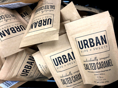 Urban Sips + Sweets Salted Caramels