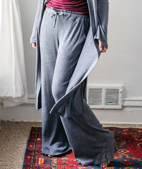 VENICE lounge pants in Slate Grey