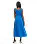 LILLIANA maxi dress in Milano Blue