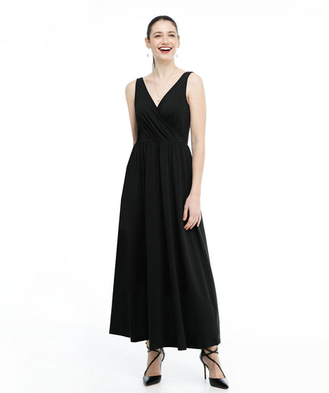 The LILLIANA maxi dress in Black