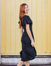 SYDNEY midi dress in Black
