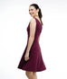 The NORA dress in Deep Currant