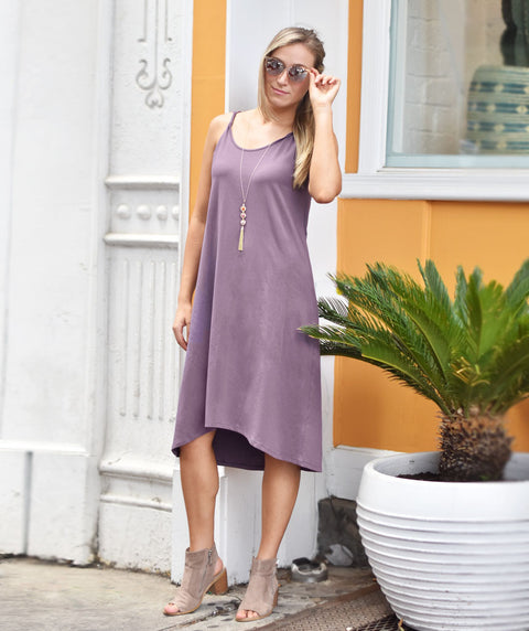 The KIERA dress in Vintage Violet