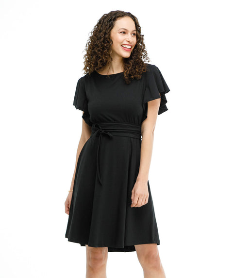 The JANE dress in Black
