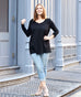The AMAL tunic in Black