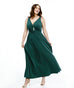 The LILLIANA maxi dress in Pine