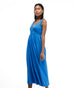 The LILLIANA maxi dress in Milano Blue